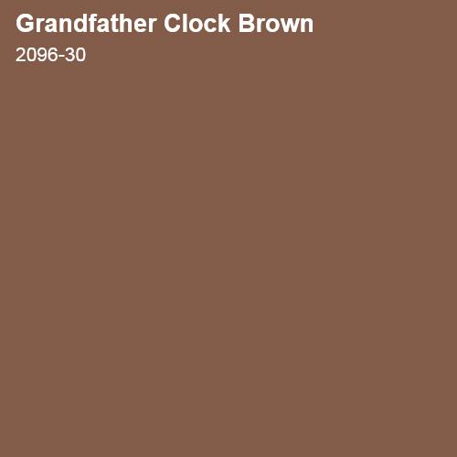 Grandfather Clock Brown