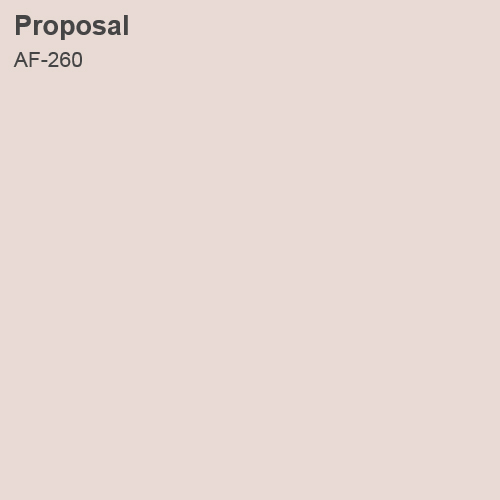 Proposal Color Sample