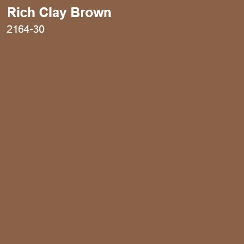 Rich Clay Brown