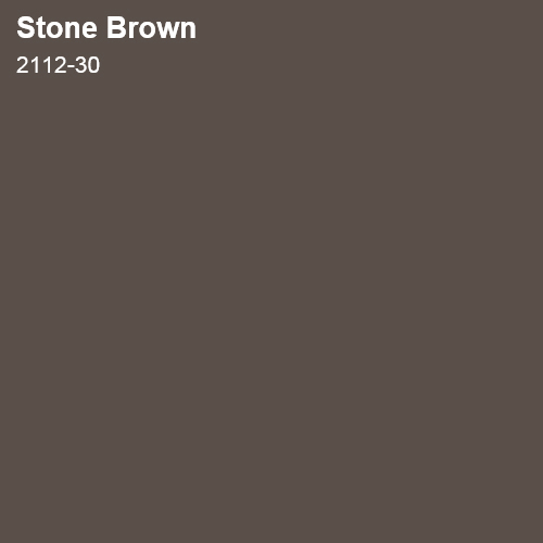 Stone Brown Color Sample