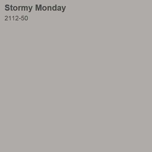 Stormy Monday Color Sample