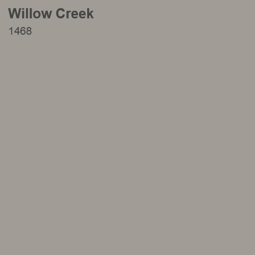 Willow Creek Color Sample